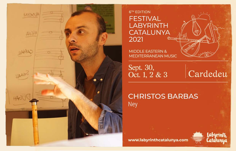 Christos Barbas Ney 30/09-03/10/2021