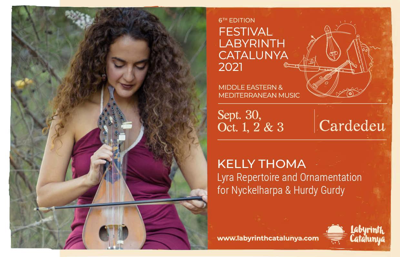 Kelly Thoma Lyra repertoire and ornamentation for Nyckelharpa and Hurdy Gurdy 30/09-03/10/2021